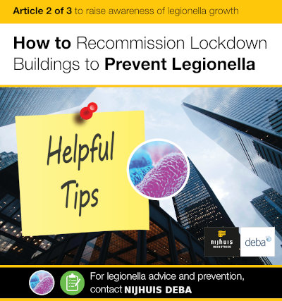 How to recommission lockdown buildings to prevent Legionella in London